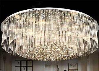 如何挑选水晶灯 客厅水晶灯选购必备小技巧