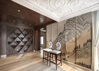 台州380平米别墅混搭风装修案例