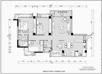 佛山千灯湖万达华府怎么样 131平方三室房子装修图