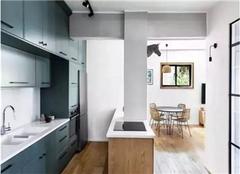 廊坊旧房改造装修案例 70平米两室一厅改造效果图
