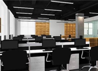 青岛办公室装修流程介绍 青岛办公室装修效果图
