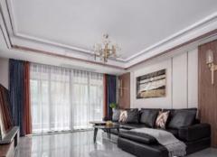烟台120平米旧房改造 三室两厅现代简约装修总费用12万