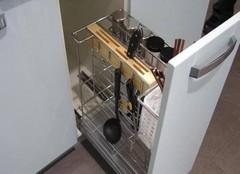 櫥柜拉籃尺寸標準多少 廚房櫥柜拉籃安裝指南