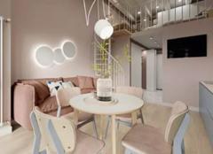 天津武清loft装修案例 45平米小户型loft公寓欣赏
