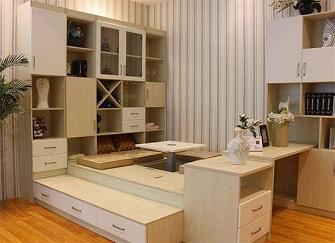 长春全屋定制哪个品牌好 卡诺亚小户型客厅装修效果图