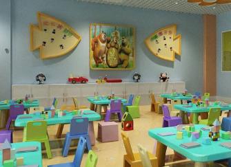 济南幼儿园装修设计公司 济南幼儿园装修设计效果图