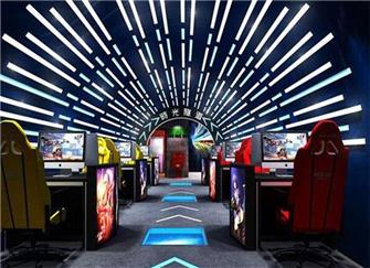 西安网吧装修设计案例 电竞网咖装修设计要点