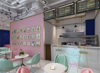 廊坊店铺装修设计效果图 廊坊奶茶店这样装修太吸引人