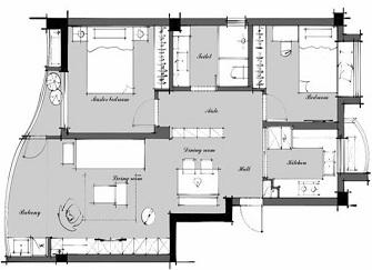 常州婚房装修公司哪家好 常州90平米婚房装修效果图