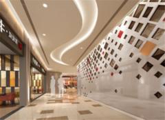 无锡商场装修设计效果图 商场这么装修吸引客户
