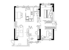 90平米婚房装修多少钱 90平米婚房简约装修案例