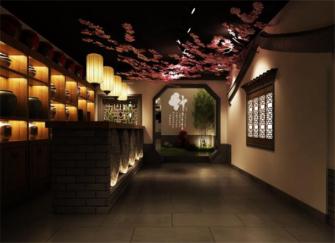 北京餐饮店装修效果图 北京餐饮店装修原则
