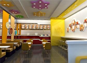 汉堡店装修一般多少钱 门面装修设计注意事项