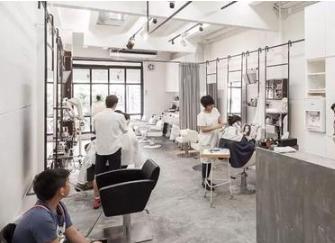 小型美发店40平米装修效果图 40平米理发店装修风格怎么选