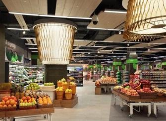 诸暨超市装修风格设计效果图赏析 超市装修省钱3个技巧摘要