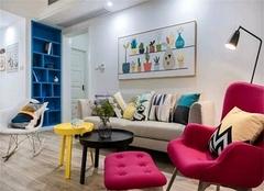 南京德基紫金南苑房子好吗 93平米2室一厅装修效果图