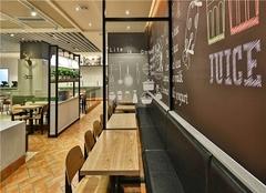 佛山快餐店装修公司 小型快餐店装修设计风格
