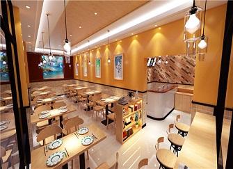 天津早餐店装修效果图 早餐店装修大概多少钱