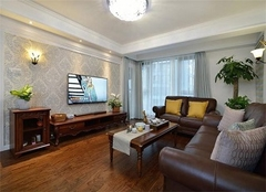 123平米房子装修大概多少钱 123平米三室两厅两卫8万装修案例