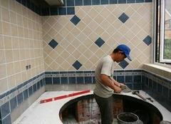 泰安贴瓷砖多少钱一平方 泰安装修人工费