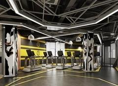 石家庄健身房装修报价 石家庄健身房设计费多少一平