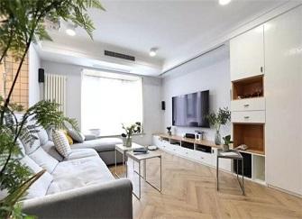 安庆83平米的房子装修要多少钱 6万装修83平米两室效果图