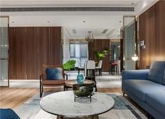 福州阳光理想城揽香怎么样 128平米三室两厅两卫装修效果图