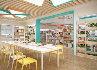 图书馆室内装修色采用暖色调还是冷色调 图书馆室内装修应注意的问题