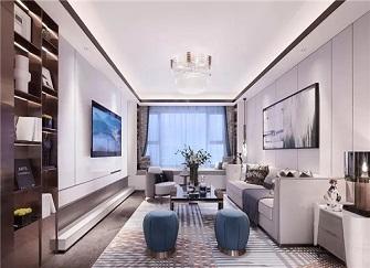 温州恒大悦澜湾112平米房子简欧装修12万案例