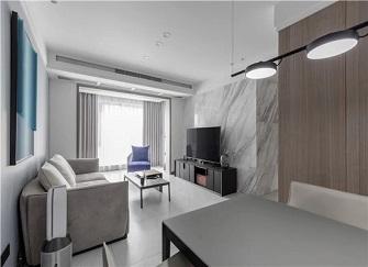 95平米房子装修多少钱 大港海邻园95平米两室装修案例