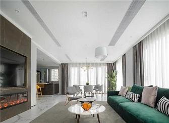 天津180平米房子装修多少钱 武清城投熙和园180平米装修效果图