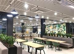 厂房食堂装修包工包料多少钱一个平方 佛山厂房食堂装修效果图