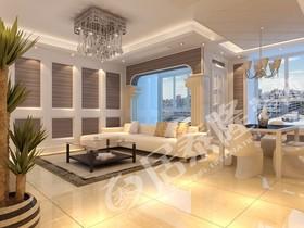 欧式华家园兴装修设计案例