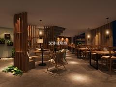 青島餐廳裝修之1966時尚餐廳