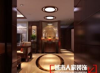 中式现代-中式风格效果图