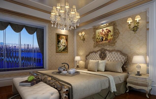 金色威尼斯欧式风格装修效果图