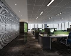 办公室欧式风格装修案例