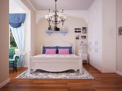 紫竹苑地中海风格装修案例