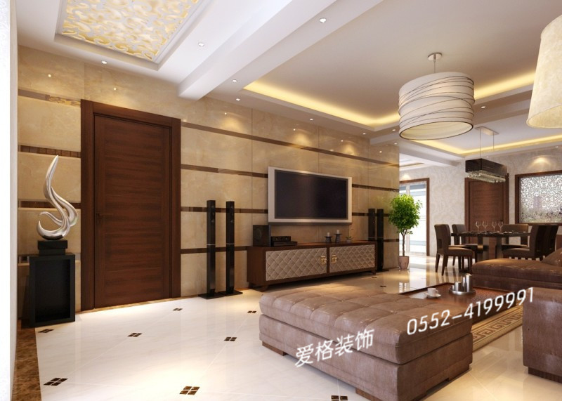 嘉和豪庭中式风格装修效果图
