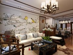 东海花园中式风格装修案例