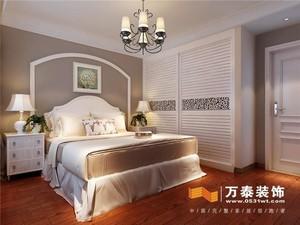 济南97㎡美式风格装修效果图