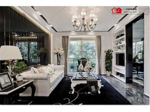 芜湖175㎡美式风格装修效果图