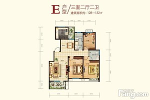 济南129㎡现代简约装修效果图