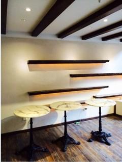 法式咖啡馆现代简约装修案例