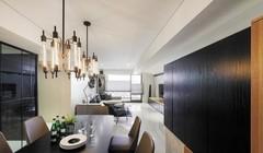 两居室现代简约装修案例