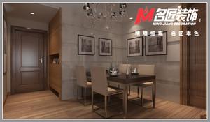 庐江108㎡中式风格装修效果图