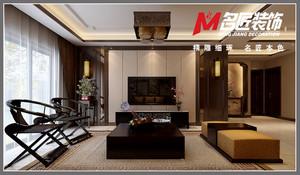 庐江137㎡中式风格装修效果图