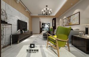 济南156㎡现代简约装修效果图