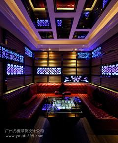 广州天河紫龙汇KTV设计