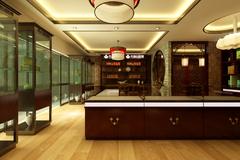 鲁能领秀城商铺古典风格装修案例
